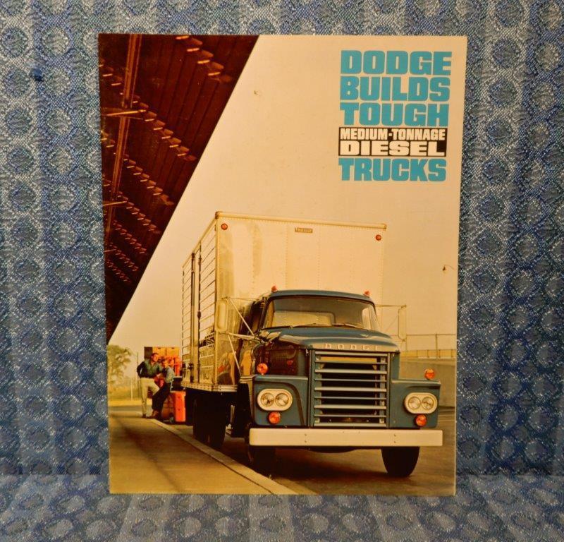1965 Dodge Medium Tonnage Diesel Truck Original Sales Brochure