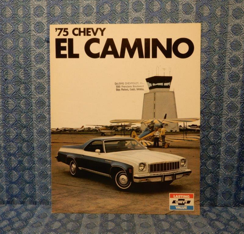 1975 Chevrolet El Camino Original Sales Brochure