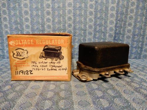 1956 Wasp V8, Nash Statesman 1957-1960 Rambler NORS Voltage Regulator #1119122