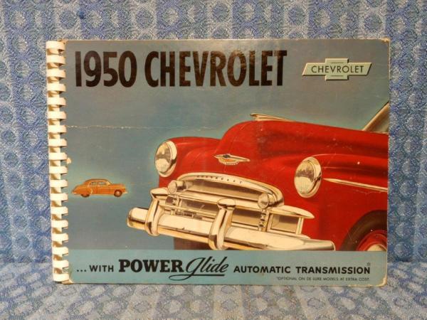 1950 Chevrolet Car Original Dealer Only Showroom Sales Album Bel-Air DeLuxe Spec