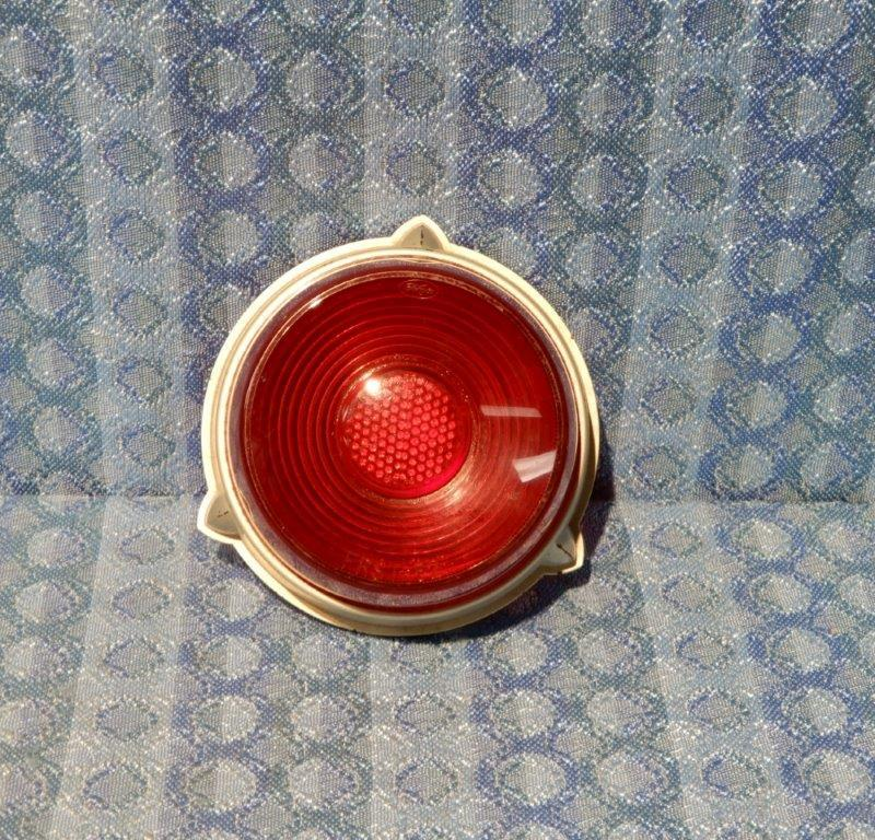 1952 Ford Pass & Station Wagon OEM NOS Tail Light / Lamp Lens #FAA-13450-C