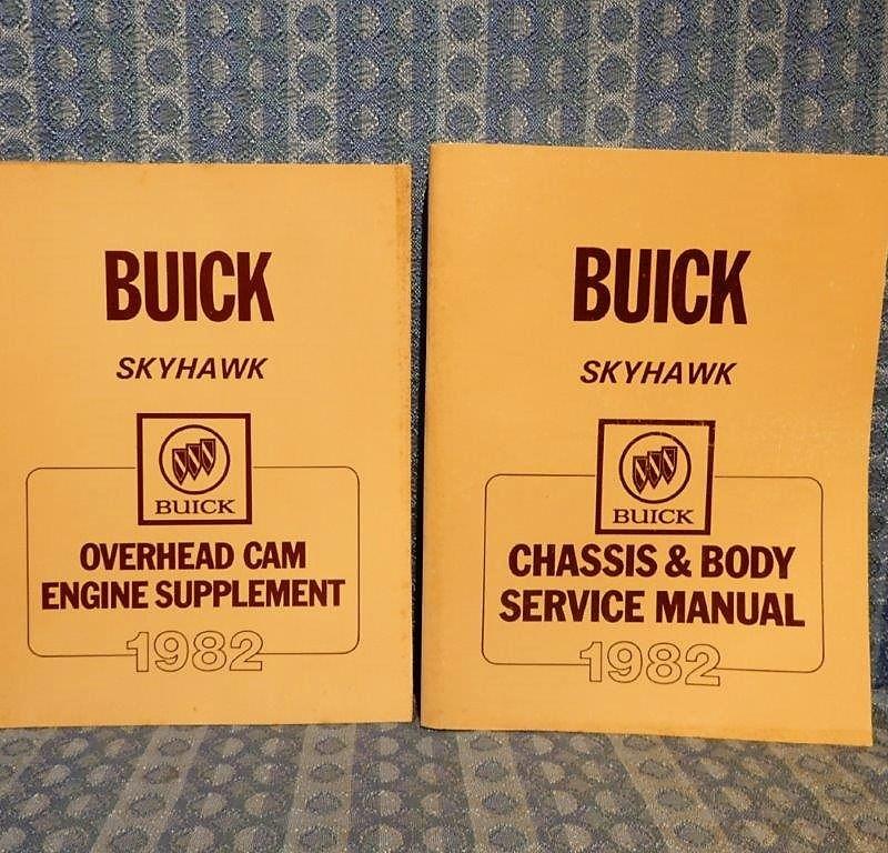 1982 Buick Skyhawk Original Shop / Service Manual 2 Volume Set