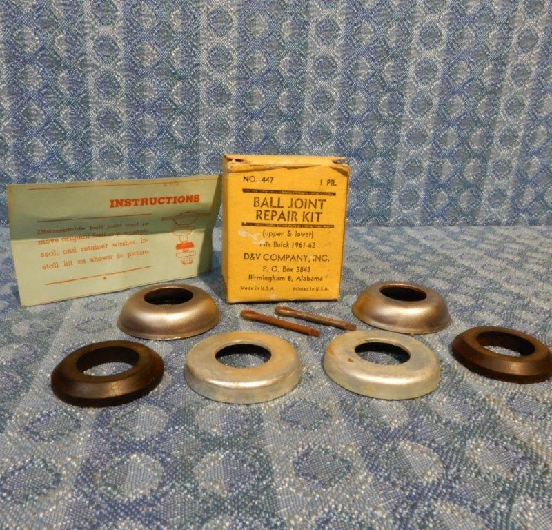 1961 1962 Buick NORS Ball Joint Repair Kit Electra LeSabre Invicta Wildcat #447