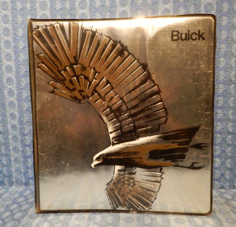1981 Buick Original Dealer Color, Trim & Selling Manual, Riviera, Regal, LeSabre