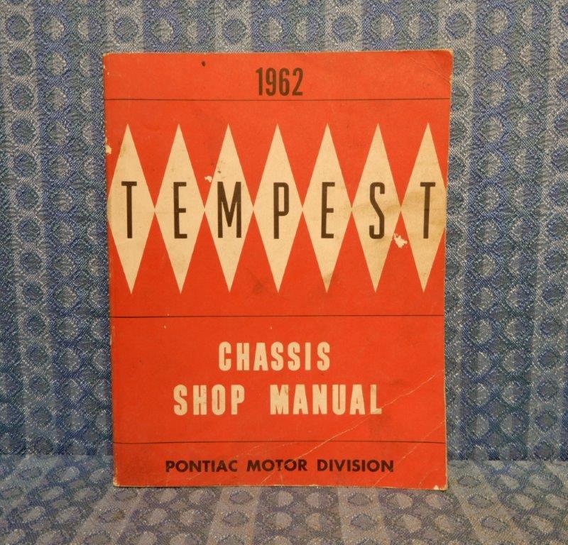1962 Pontiac Tempest Original Chassis Shop Manual
