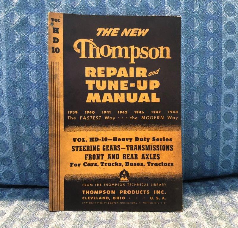 1939-1948 Steering Gear Transmissions Axles Original Repair Manual 1940 41 46 47