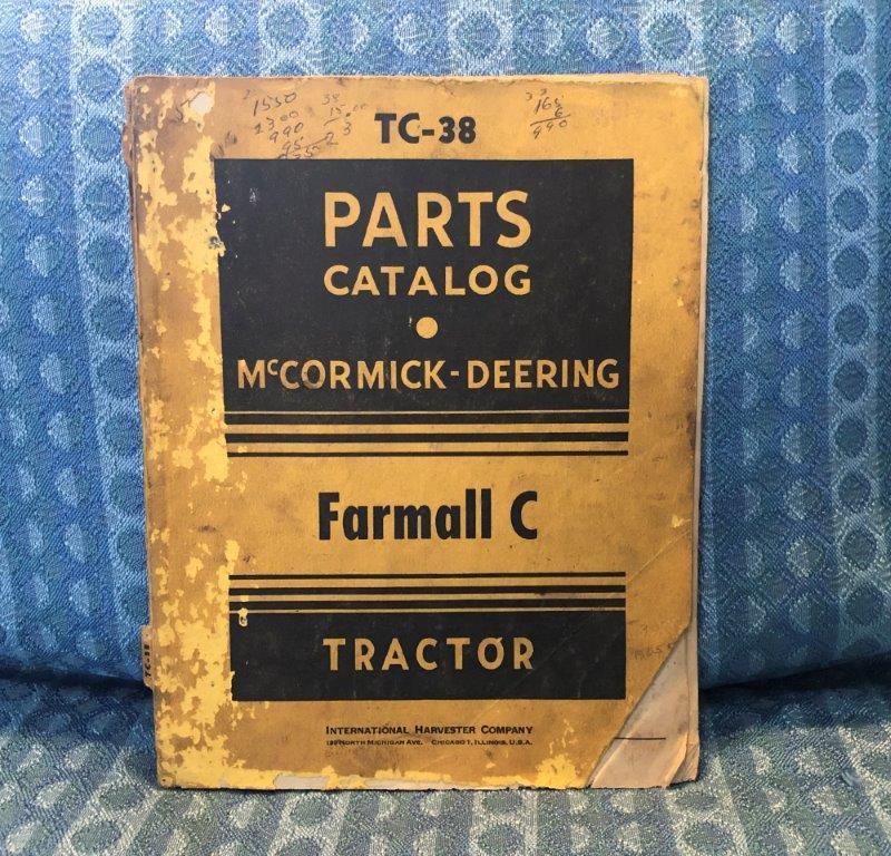 1947 International Farmall Series C Original Parts Catalog