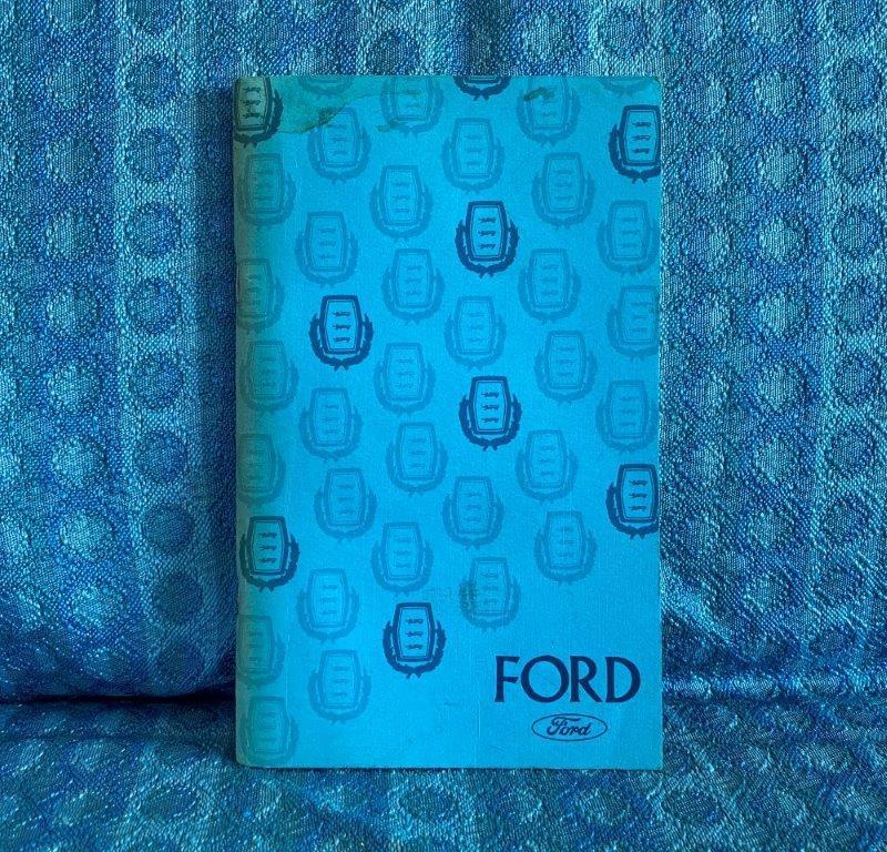 1975 Ford Full Size Passenger Cars & Wagons Original Owners Manual LTD