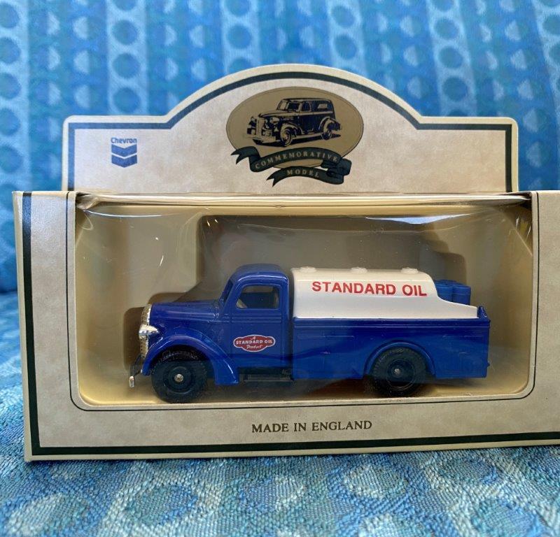 Chevron Commemorative Die Cast Metal Replica 1936 Farm Delivery Truck NIB