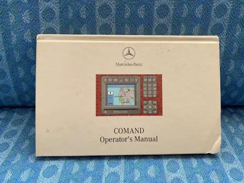Original Command Owners Manual For 2001 Mercedes-Benz