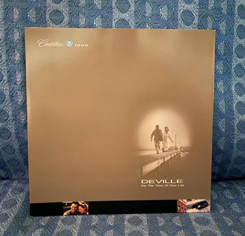 1998 Cadillac Deville Original Sales Brochure