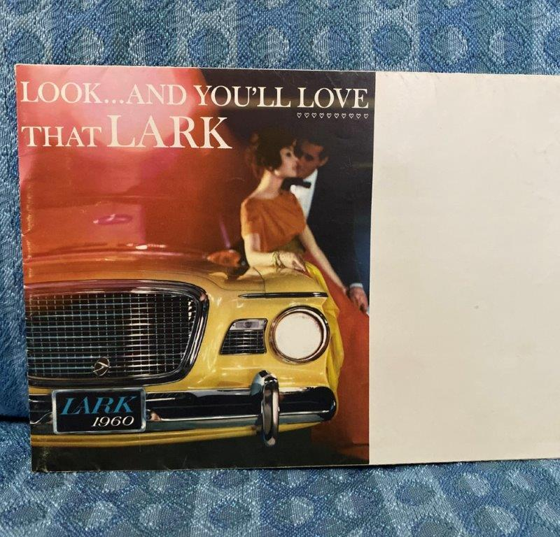 1960 Studebaker Lark Original Sales Brochure