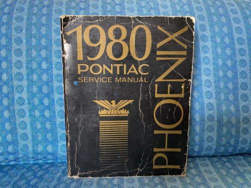 1980 Pontiac Phoenix Original Shop / Service Manual