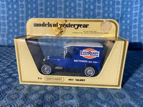1927 Talbot Truck EverReady Batteries Matchbox Models of Yesteryear #Y-5