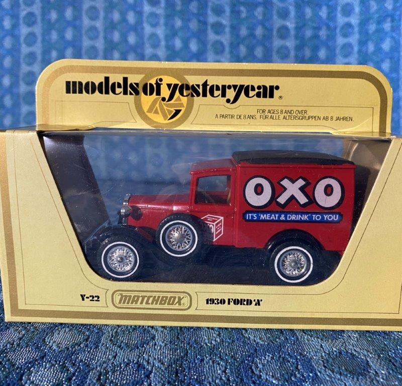1930 Ford Model A OXO Matchbox Models of Yesteryear #Y-22