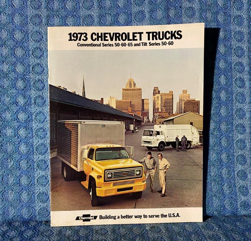 1973 Chevrolet Truck Series 50-60-65 Conv & Tilt Cab Original Sales Brochure