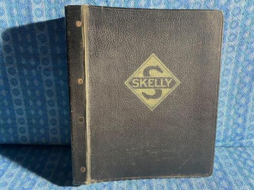 1952 Skelly Oil Co Original Marketing Notebook with Contents (SEE DETAILED AD)
