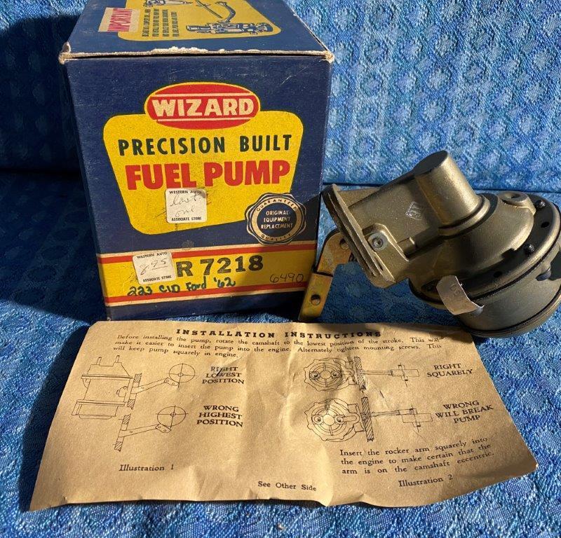 1962 Ford & Mercury 223 6 Cyl NORS Fuel Pump