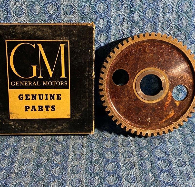 1937-1947 Chevrolet Pass 48-52 Truck NOS GM Timing Gear #838436