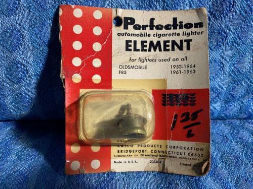 1953-1964 Oldsmobile 88 98 NORS 12 Volt Cigarette Lighter Element