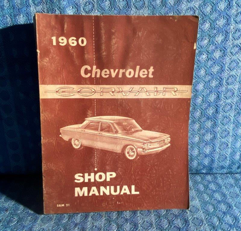 1960 Chevrolet Corvair Original Shop Manual
