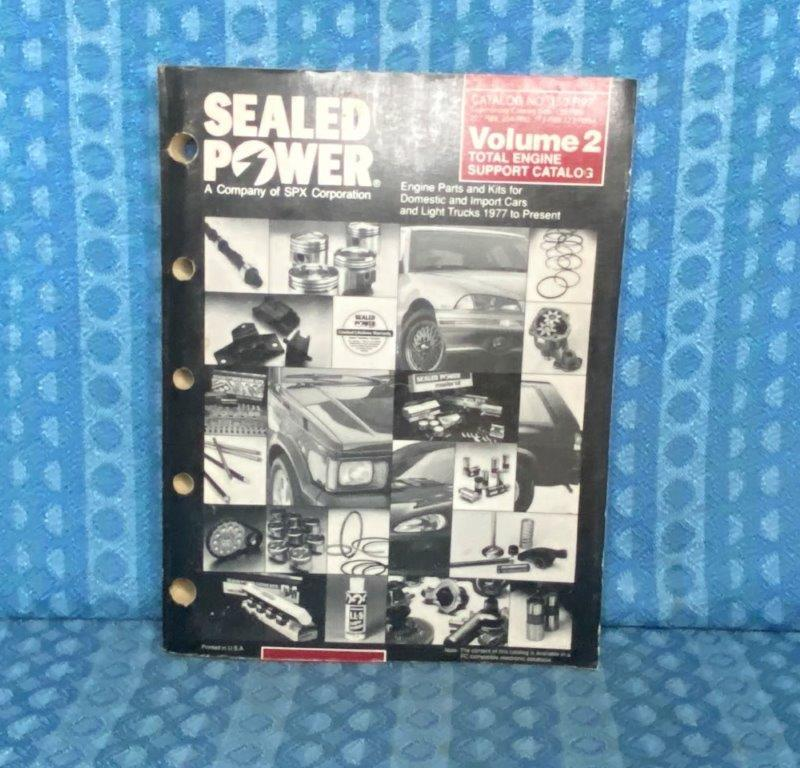 1977-1992 GM Ford Mopar VW Car & Truck Sealed Power Engine Parts Catalog 1980 85