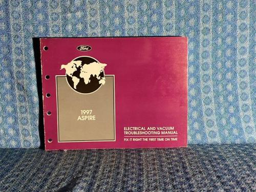 1997 Ford Aspire Original Electrical & Vaccum Troubleshooting Manual
