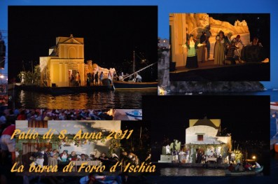 La Barca vincitrice del Palio di S. Anna 2011 - Forio - di Enzo Corbino