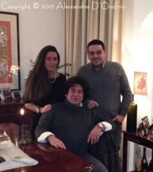 Mia sorella Gemma e mio fratello Alberto