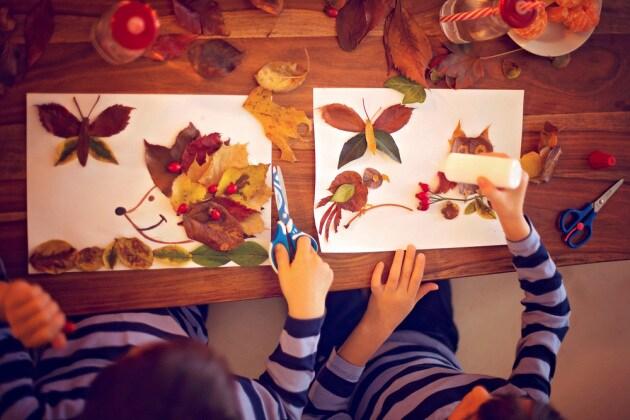 Montessori 20 Lavoretti Per Bambini Sullautunno