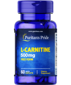 puritan's pride l-carnitine 500 mg