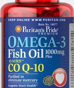 OMIGA-3 FISH Oil + Co Q-10