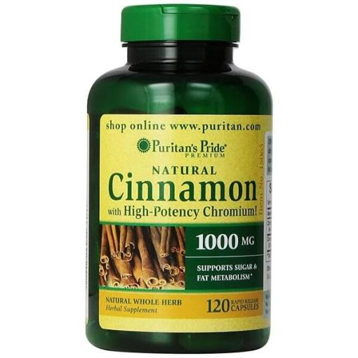 Cinnamon Capsules with High Potency Chromium