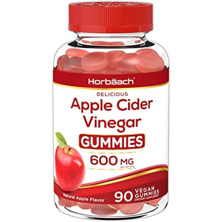 apple cider vinegar gummies 600 mg