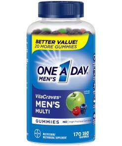 One A Day Men's vitacraves men's multi 170 gummies