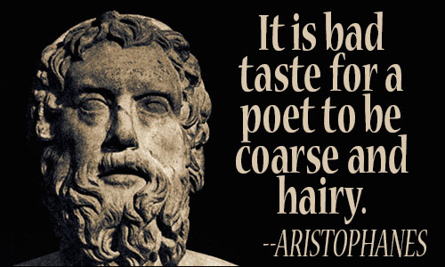 Aristophanes quote