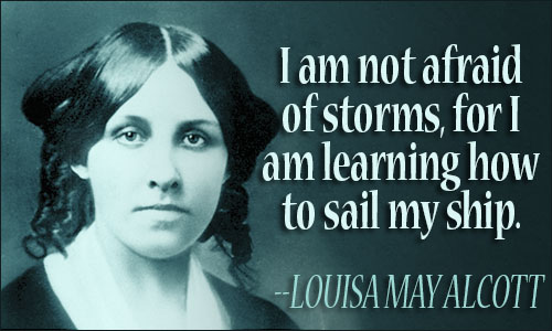 Image result for louisa may alcott writing quote