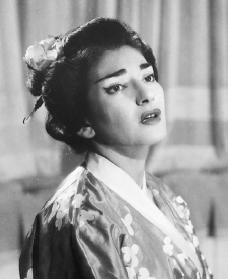 Maria Callas. Reproduced by permission of the Corbis Corporation.