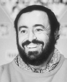 Image result for Luciano Pavarotti sports