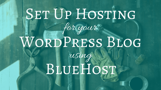 How to Set up Hosting for your WordPress Blog with BlueHost