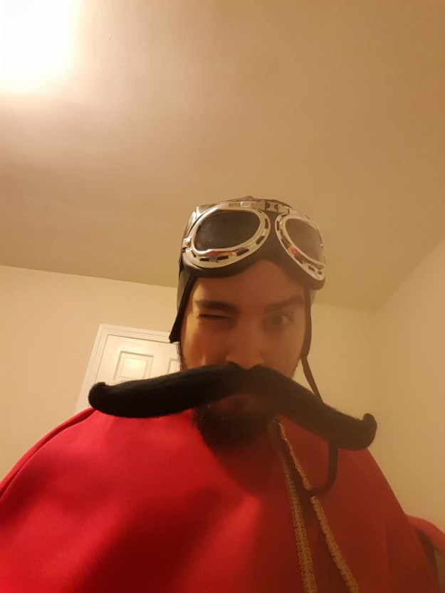 My Halloween costume. I was the Spanish Inquisition. No one expected it.