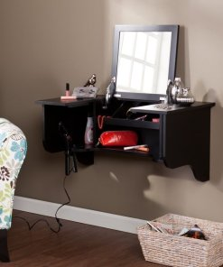 Ladies, Get Ready with This Compact vanity Ledge
