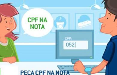 saldo cpf na nota fiscal