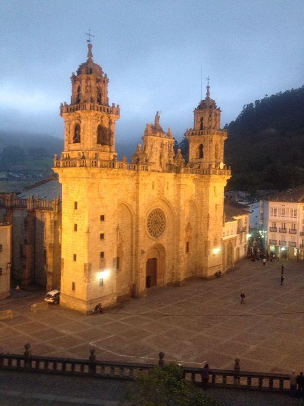 Catedral de Mondoñedo bajo la advocación de la Asunción de María