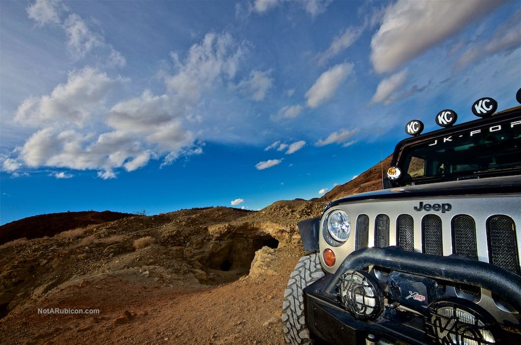 Jeep Wrangler JK Unlimited at Calico