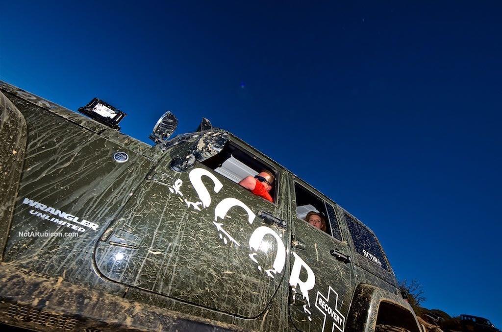 SCOR Recovery Jeep