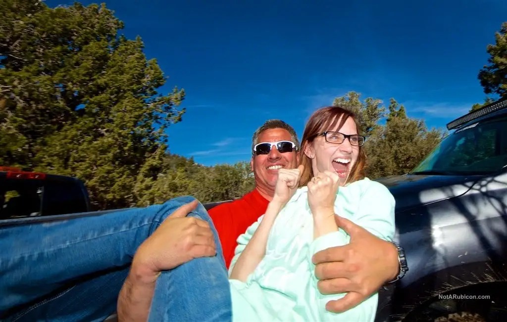Chris Munoz and Bianca Labe in Big Bear