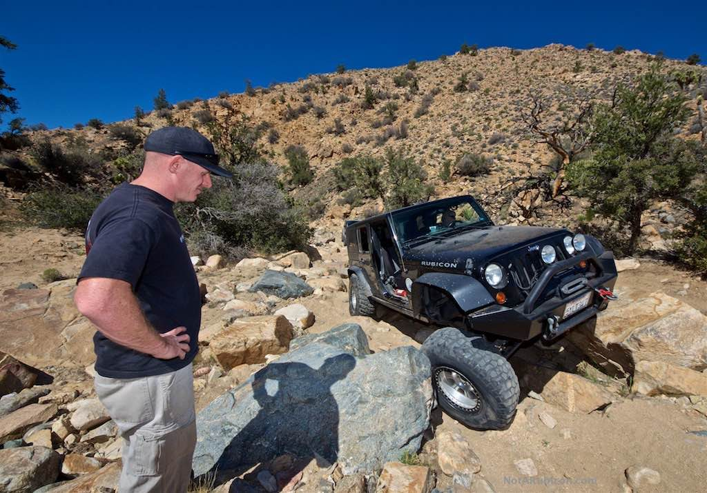 Jeeps at Mottino Wash