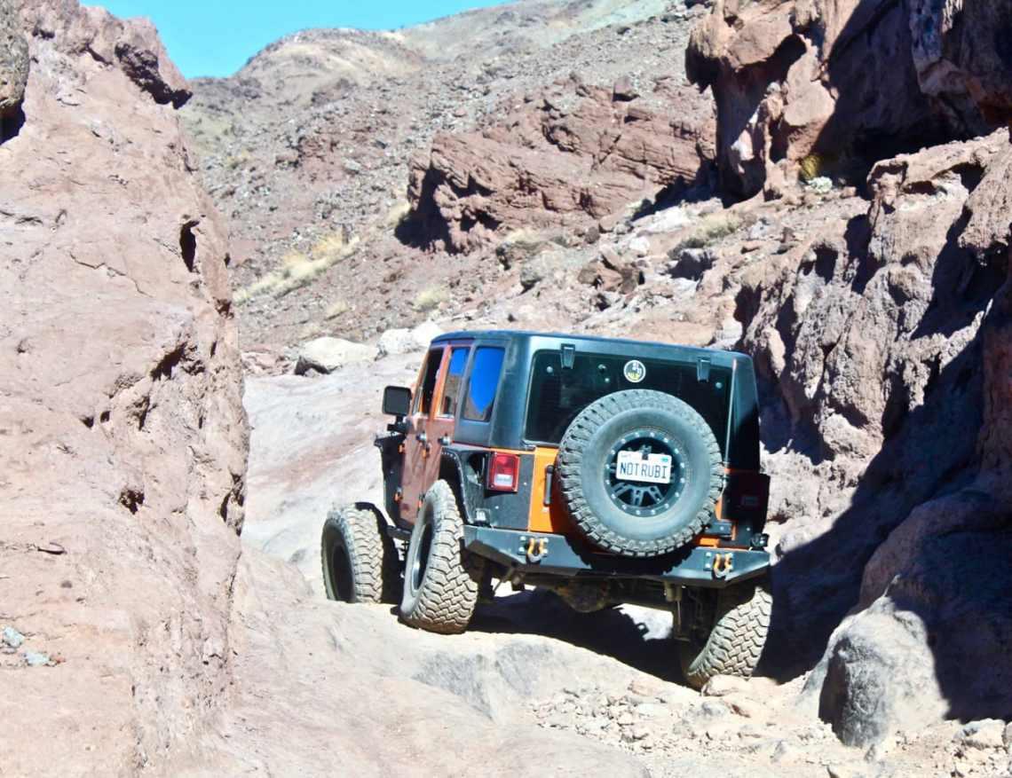 The Notarubicon Jeep on Doran Scenic 4x4 Trail