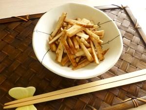 カリカリごぼうの味噌漬け